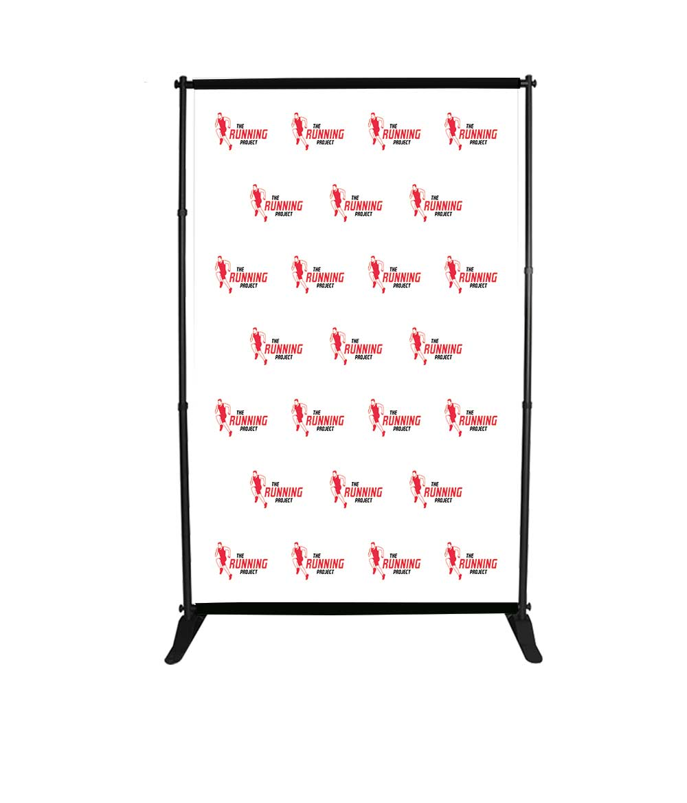 5x8ft step and repeat adjustable banner stands bos 1
