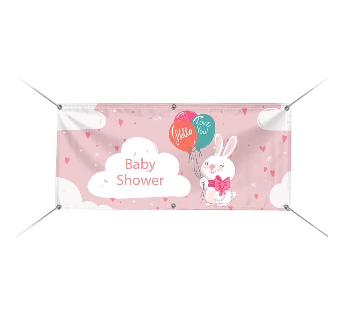 Cheap Baby Shower Banners Custom Baby Banners Bestofsigns