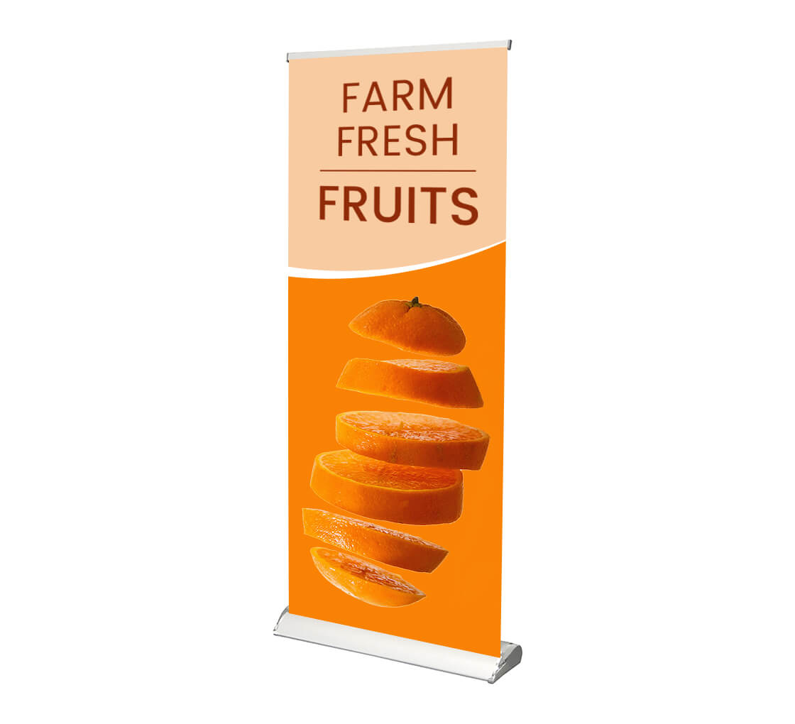 """33.5/"""" Retractable Banner Stand"""