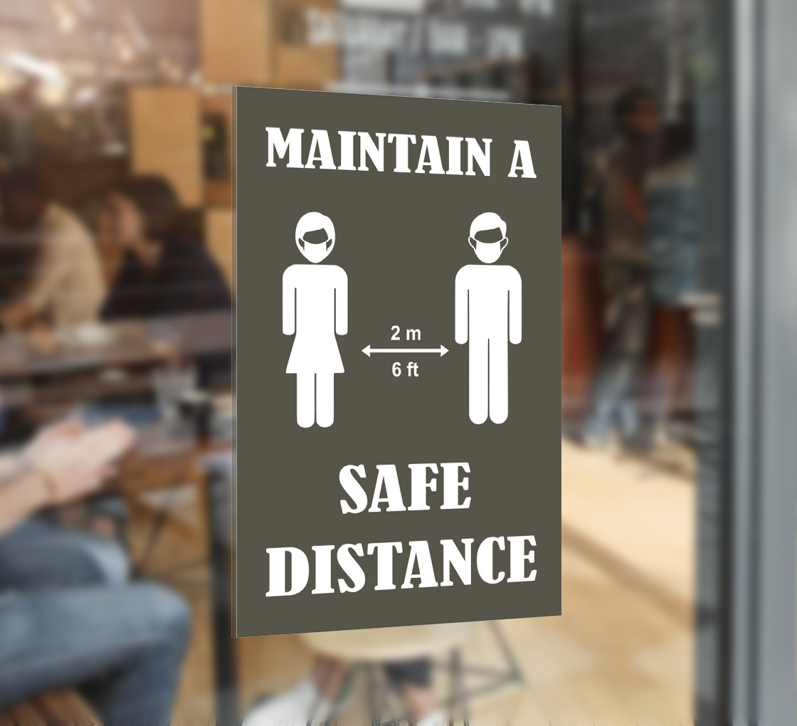 bbcovs06 maintain a safe distance window decals
