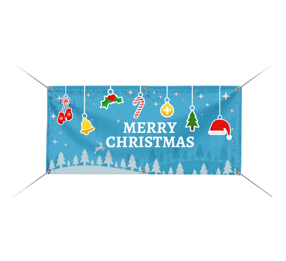 Keep Christ In Christmas Business 13 Oz Vinyl Banner Sign With Grommets 3 Ft X 6 Ft