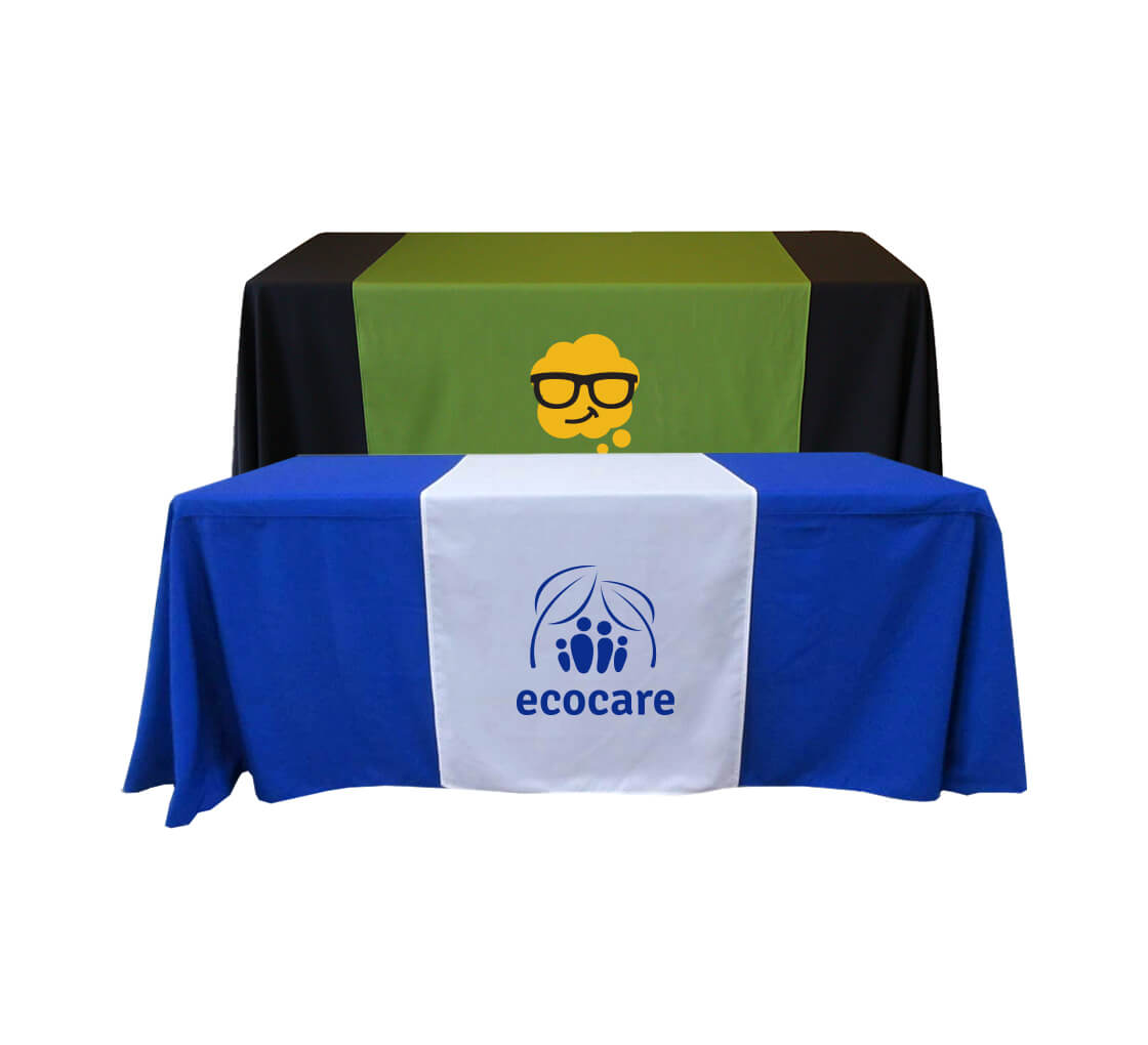 customized table runners bos