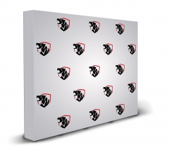 10 ft x 8 ft Step and Repeat Fabric Pop Up Straight Display