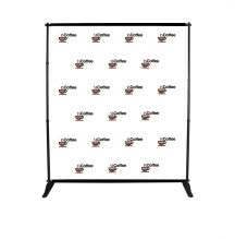 6 ft x 8 ft Step and Repeat Adjustable Banner Stands