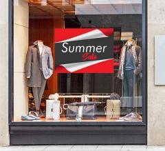 Advertising Window Decals Opaque