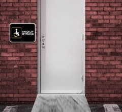 Handicap Restroom Signs