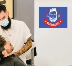 Barber Shop Surface Decals