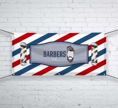 Barber Shop Vinyl Banners
