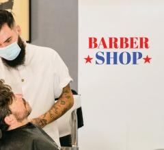 Barber Shop Vinyl Letters