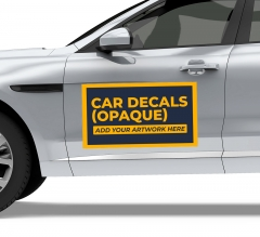 Car Decals / Stickers (Opaque)