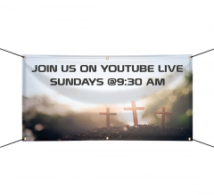 Join us on Youtube Live Vinyl Banners