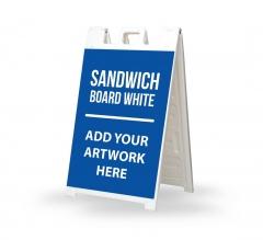 Sandwich Board White