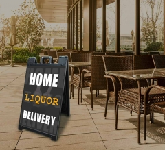 Home Liquor Delivery Available Signicade Black