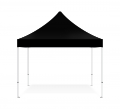 Black Canopy Tent