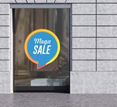 Bubble-Free Die-Cut Window Decals (Opaque)