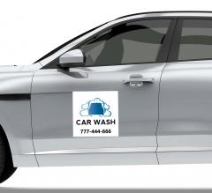 Car Wash Car Signs