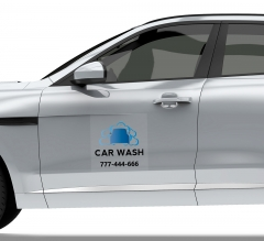 Car Wash Car Signs Clear
