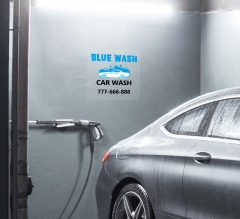 Car Wash Clear Surface Decals