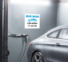 Car Wash Surface Decals