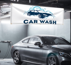 Car Wash Vinyl Banners