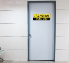 Caution Compliance Signs