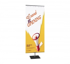 Classic Large Tabletop Banner Stands