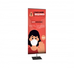 Classic Medium Tabletop Banner Stands