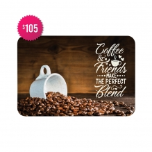 Free Coffee & Friends Indoor Floor Mats (4' x 3')