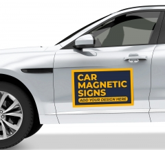 Car Magnetic Signs
