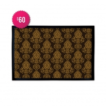 Free Damask Decor Outdoor Floor Mats (2.25' x 1.5')