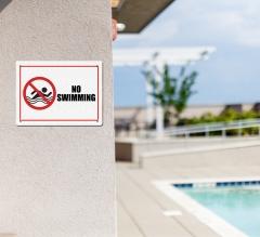 Danger Pool Signs