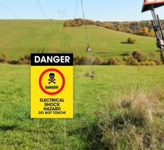 Danger Yard Signs