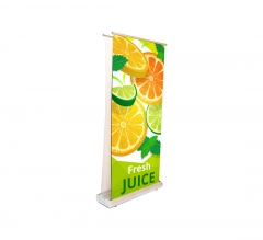 Deluxe Wide Base Double-screen Roll Up Banner Stands