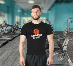 Dry-Fit Moisture Wicking T-shirt - Crew Neck