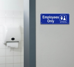 Employee Only Restroom Signs