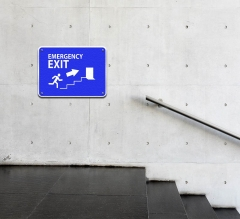 Exit Compliance Signs