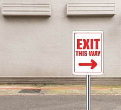 Exit Street Signs