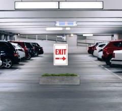 Exit Yard Signs