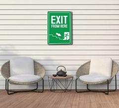 Exit Patio Signs