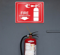 Fire Extinguisher Restroom Signs