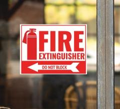 Fire Extinguisher Surface Decals