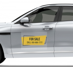 For Sale Car Signs Clear