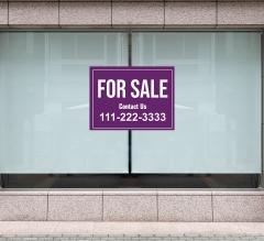 For Sale Window Decals Opaque