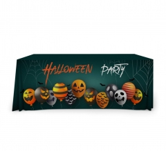 Halloween Premium Full Color Table Covers & Throws - 4 Sided