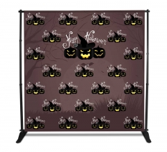 Halloween Step and Repeat Fabric Banners