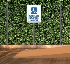 Handicap Patio Signs
