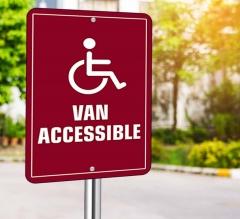 Handicap Street Signs