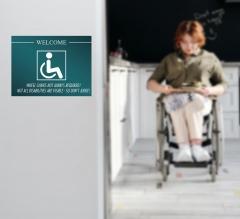 Handicap Surface Decals