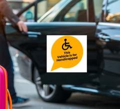 Handicap Car Signs