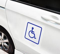 Handicap Car Signs Clear
